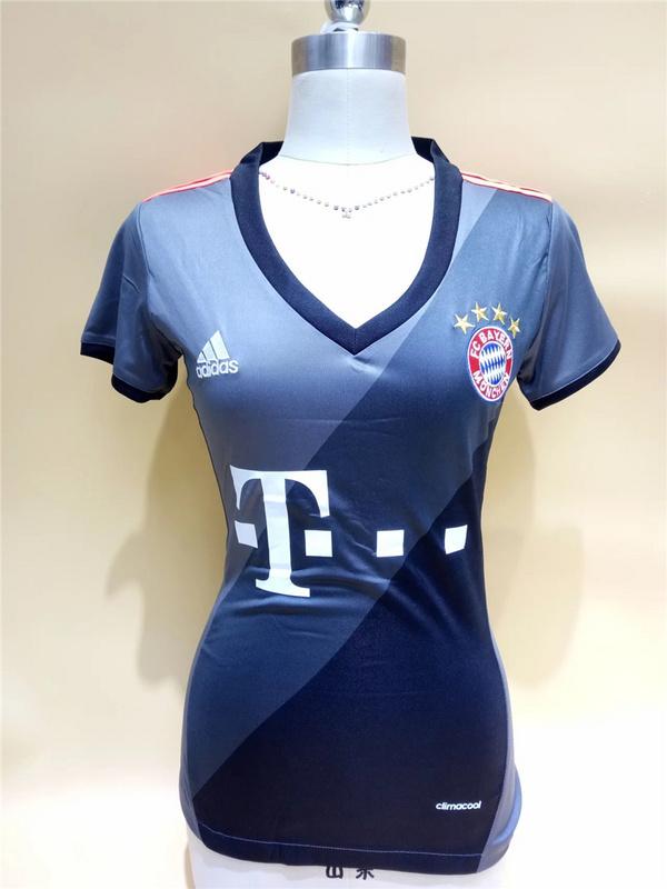 womens bayern munchen 11 costa home short sleeves 2016 2017 club ... 76615c86e