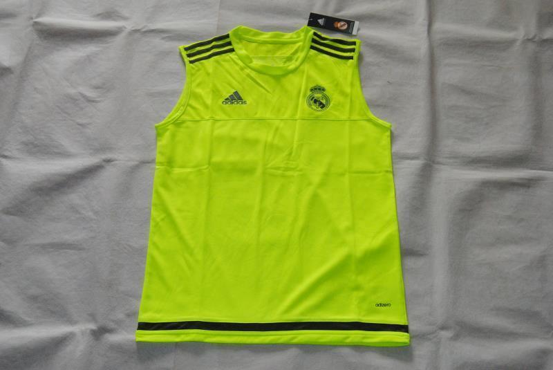 on sale 6482e c31cd Real Madrid Green Sleeveless Soccer Jersey Shirt [1604201510 ...