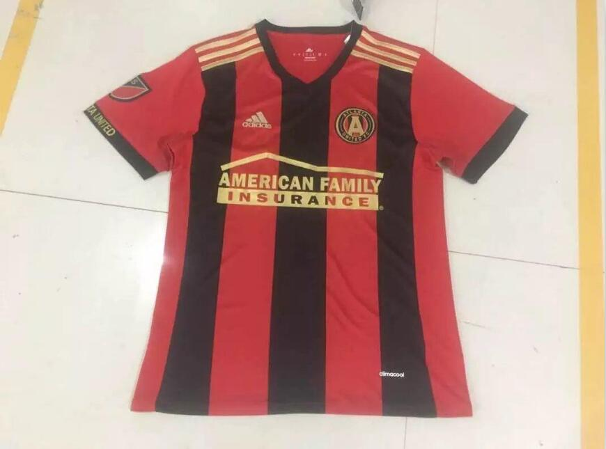 hot sale online c2866 6940a Atlanta United FC 2016-17 Red Soccer Jersey [1612031626 ...