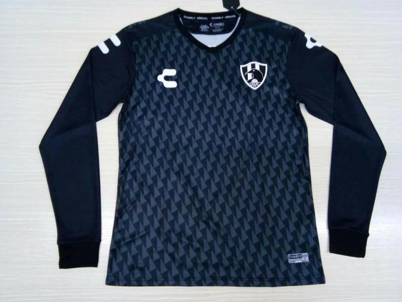 pretty nice 48a64 3be60 Club De Cuervos 2019-20 Away Long Sleeve Soccer Jersey ...