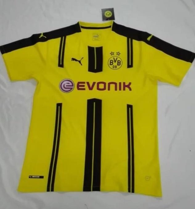 2241e7161 Borussia Dortmund 16 17 Home Soccer Jersey