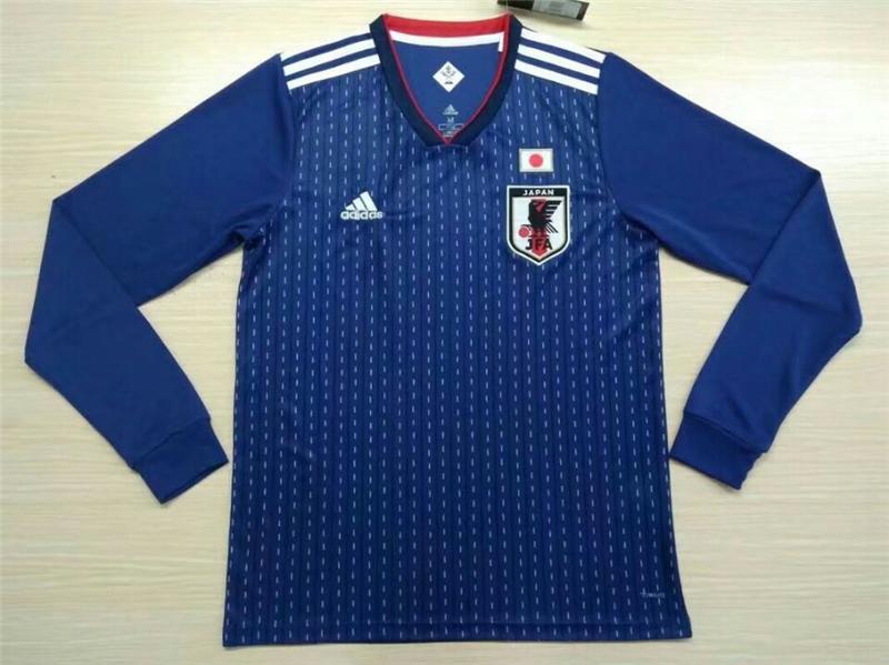 2018 World Cup Japan Home Soccer Jersey Kit(Shirt+Short)