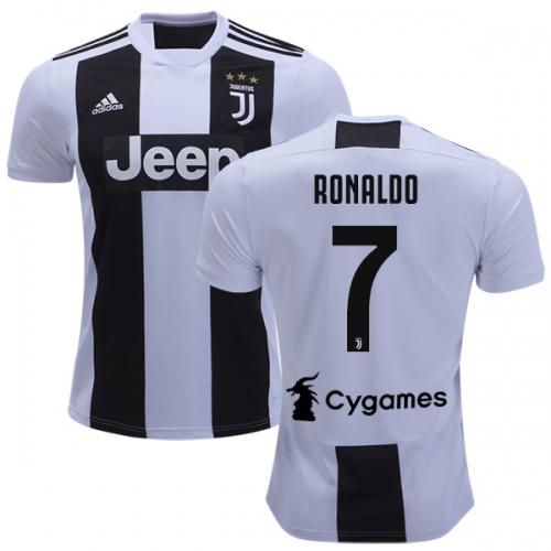 3122221fe Juventus 18 19 Ronaldo  7 Home Soccer Jersey