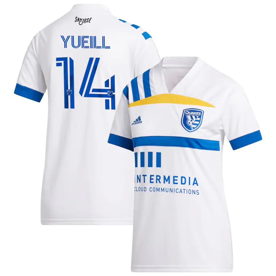 Shop 14 Jackson Yueill 2020 21 San Jose Earthquakes Home Soccer Jersey Shirt Cheap Soccer Jerseys For Sale Gogoalshop