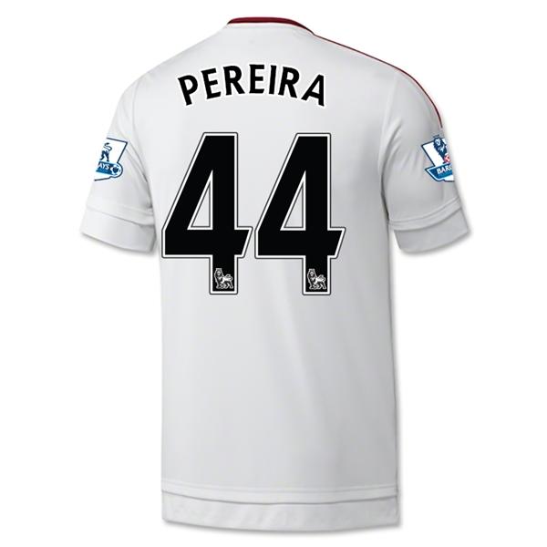 c02a20abe3e Manchester United 15-16 PEREIRA  44 Away Soccer Jersey  15101216337 ...