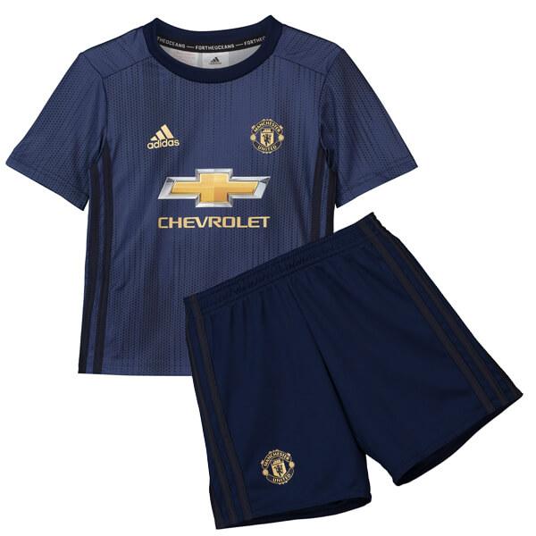 341c42dc0649b3 Kids Manchester United 2018-19 Third Soccer Kit(Shirt+Shorts)