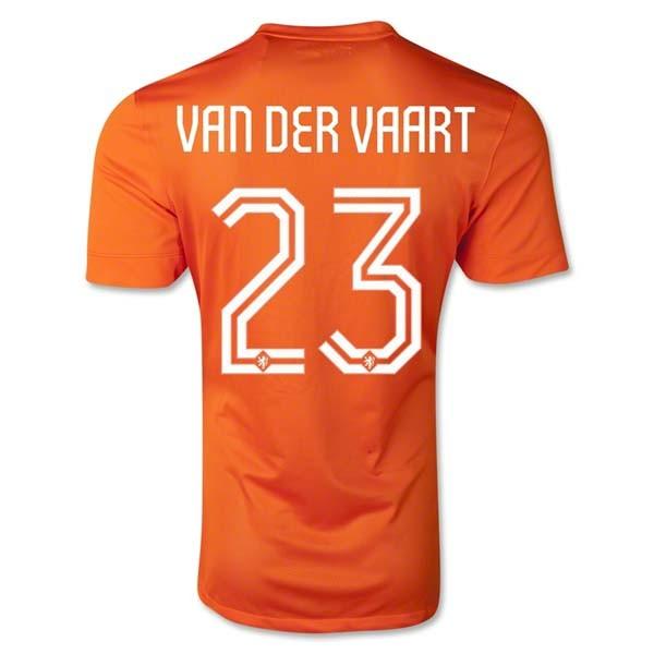 separation shoes f5770 ebe42 2014 world cup holland 23 van der vaart away soccer long ...