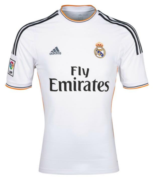 0bf085bf3 ... 13-14 Real Madrid 4 Sergio Ramos Home Jersey Shirt ...