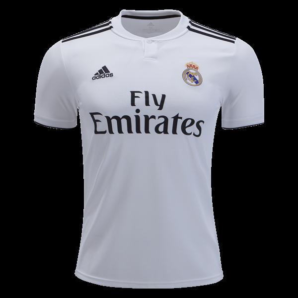 Shop Real Madrid 2018 19 Home Soccer Jersey Cheap Soccer Jerseys For Sale Gogoalshop