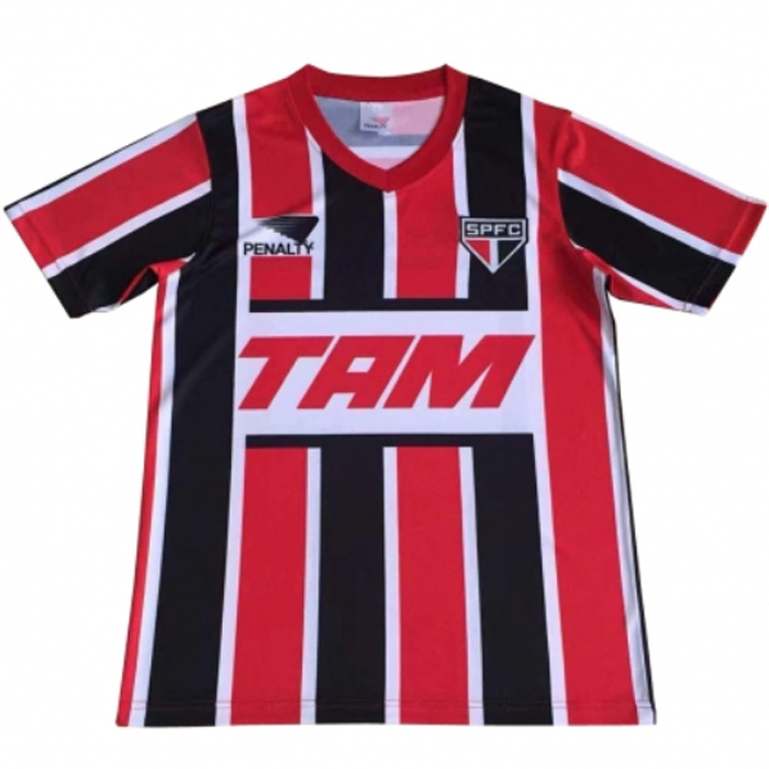 Shop SAO PAULO 1993 Away Retro Soccer Jersey Cheap Soccer Jerseys ...
