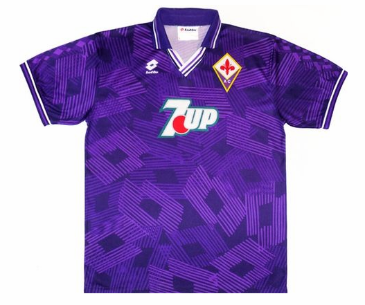 Shop Fiorentina 1999-2000 Away Retro Soccer Jersey Cheap Soccer ...
