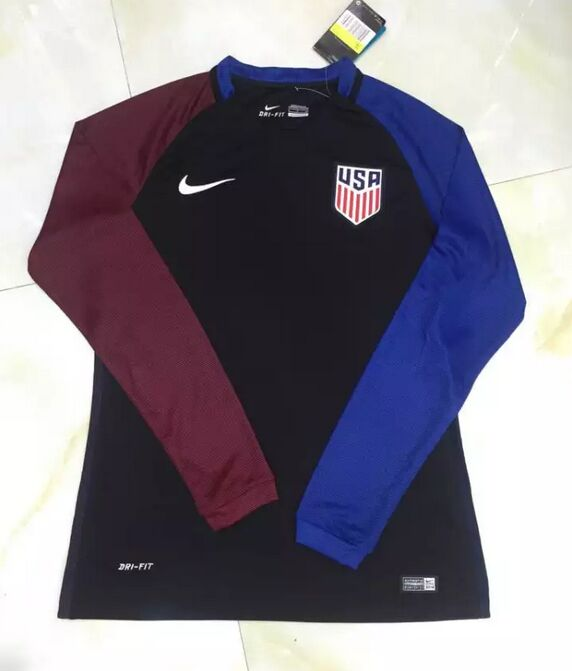 Long sleeve soccer uniform