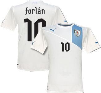 8caef5ea9f0 Uruguay 2012 13 Away Jersey Soccer Shirt Soccer Jersey Uruguay Away  Forlan